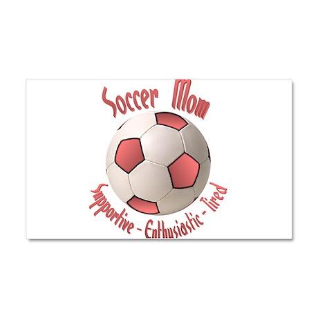 Soccer Mom Car Magnet 20 x 12