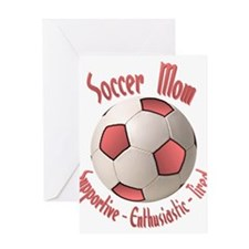 Soccer Mom Greeting Card