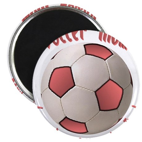 """Soccer Mom 2.25"""" Magnet (100 pack)"""