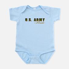 US Army Bride Infant Bodysuit