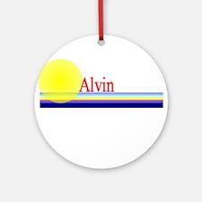 Alvin Ornament (Round)