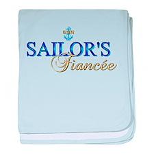 Sailor's Fiancee baby blanket