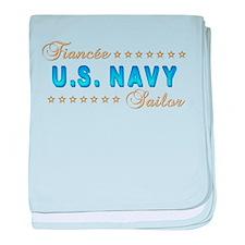 US Navy Fiancee baby blanket
