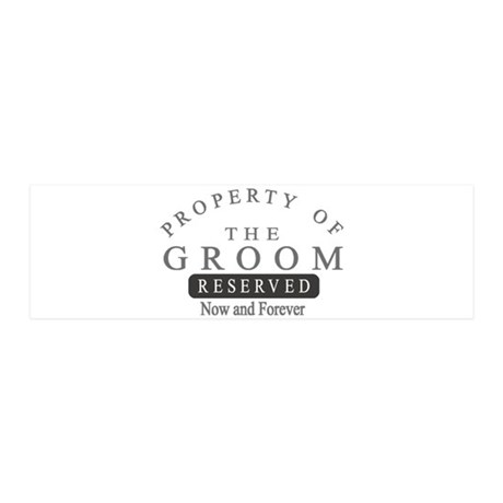 Property Groom Forever 21x7 Wall Peel