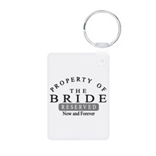 Property Bride Forever Keychains
