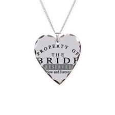 Property Bride Forever Necklace Heart Charm