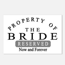 Property Bride Forever Postcards (Package of 8)