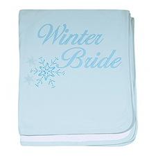 Winter Bride baby blanket