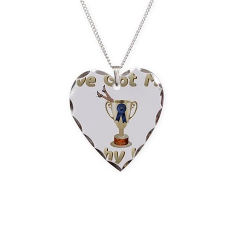 My Trophy Wife Necklace Heart Charm