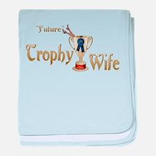 Future Trophy Wife baby blanket