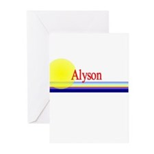 Alyson Greeting Cards (Pk of 10)