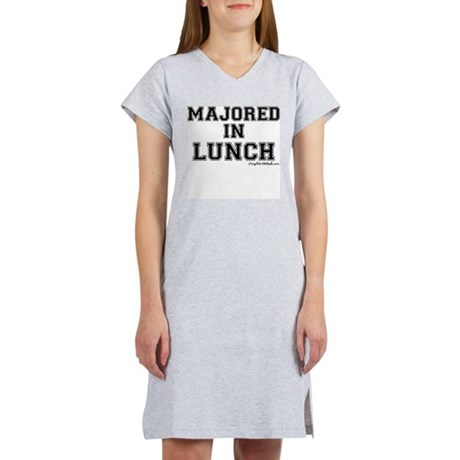 Majored In Lunch Women's Nightshirt