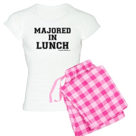 Majored In Lunch Women's Light Pajamas