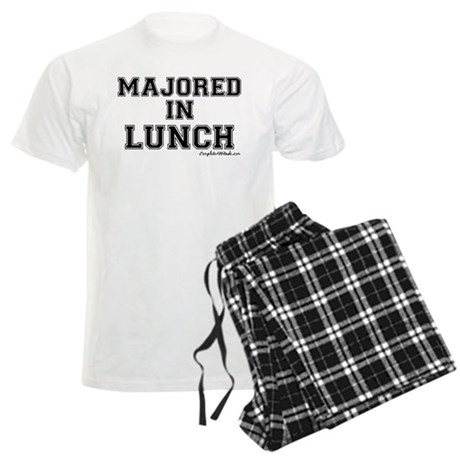 Majored In Lunch Men's Light Pajamas