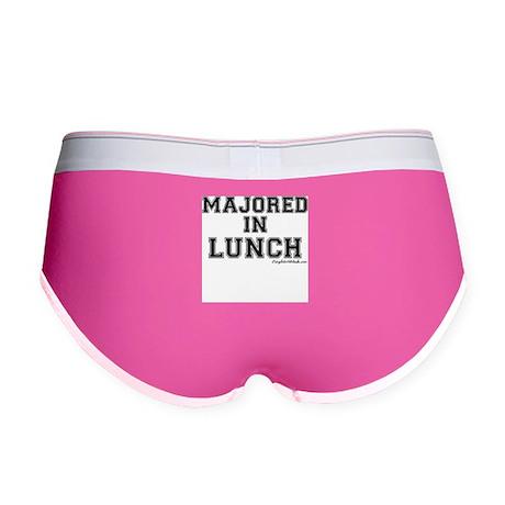 Majored In Lunch Women's Boy Brief