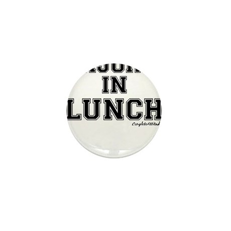 Majored In Lunch Mini Button (10 pack)