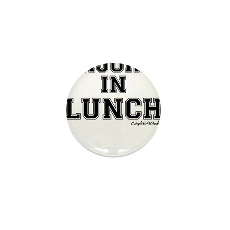 Majored In Lunch Mini Button