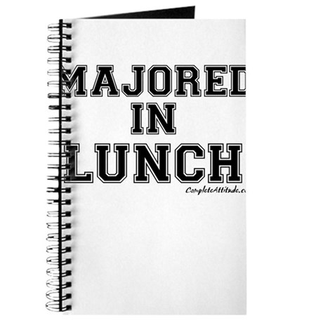 Majored In Lunch Journal