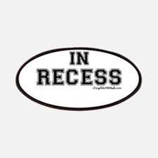 Majored In Recess Patches
