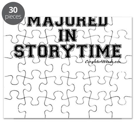 Majored In Storytime Puzzle
