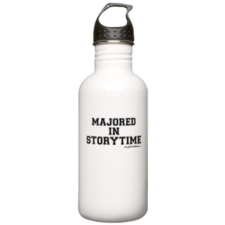 Majored In Storytime Stainless Water Bottle 1.0L
