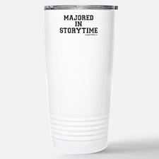 Majored In Storytime Travel Mug