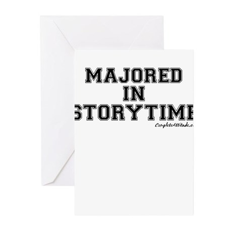 Majored In Storytime Greeting Cards (Pk of 20)