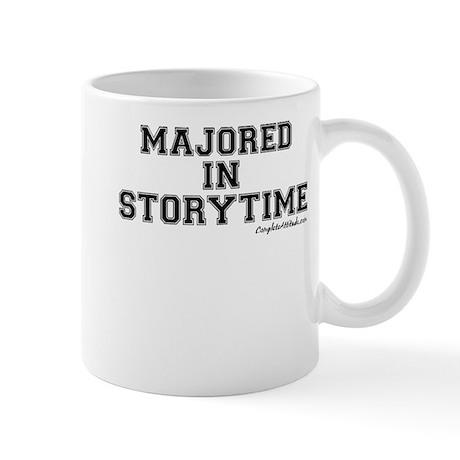 Majored In Storytime Mug