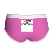 Majored In Studyhall Women's Boy Brief