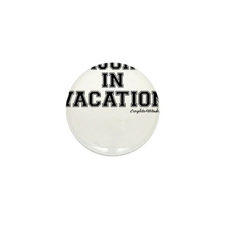 Majored In Vacation Mini Button (100 pack)