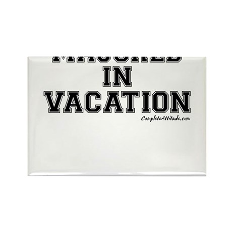 Majored In Vacation Rectangle Magnet (10 pack)