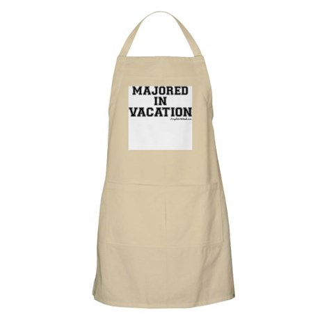 Majored In Vacation Apron