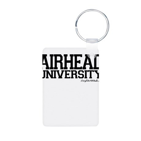 Airhead University Aluminum Photo Keychain
