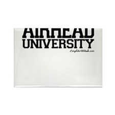 Airhead University Rectangle Magnet