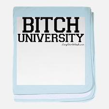 Bitch University baby blanket