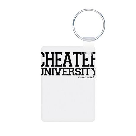 Cheater University Aluminum Photo Keychain