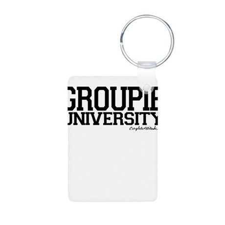 Groupie University Aluminum Photo Keychain