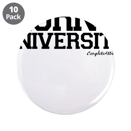 """Horny University 3.5"""" Button (10 pack)"""