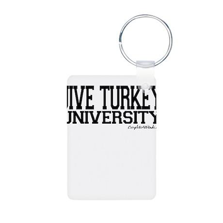 Jive Turkey University Aluminum Photo Keychain