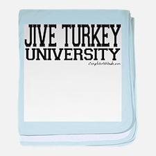 Jive Turkey University baby blanket