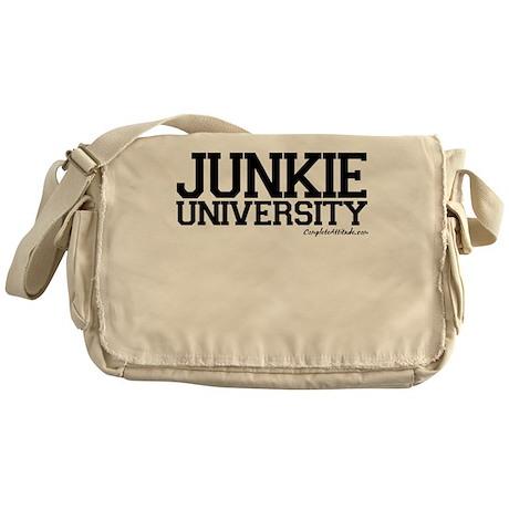 Junkie University Messenger Bag