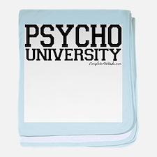 Psycho University baby blanket