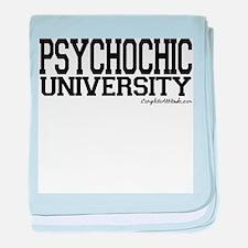 PsychoChic University baby blanket