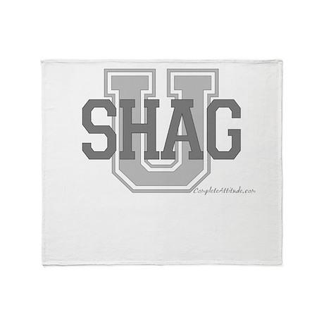 Shag U Throw Blanket
