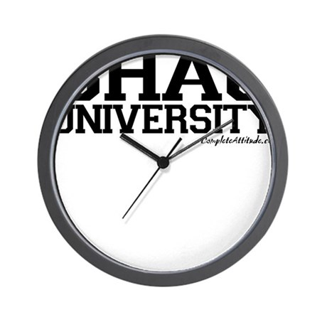 Shag University Wall Clock