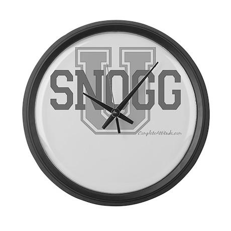 Snogg U Large Wall Clock