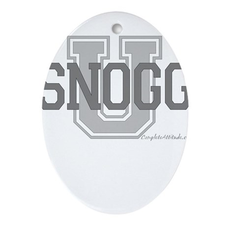 Snogg U Ornament (Oval)