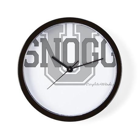 Snogg U Wall Clock