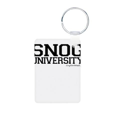 Snogg University Aluminum Photo Keychain