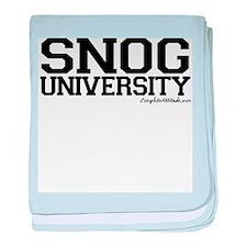 Snogg University baby blanket